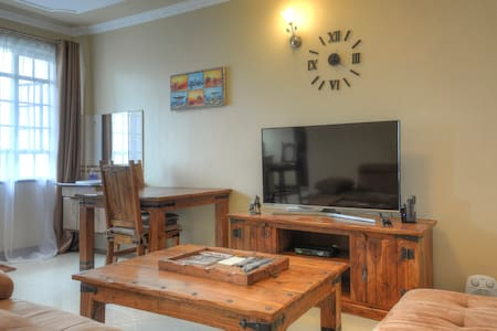 Beautiful rustic-style furnished 1bed apt - Daire