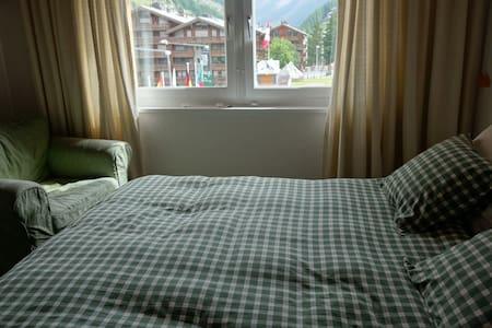 Double bedroom in shared apartment - Zermatt