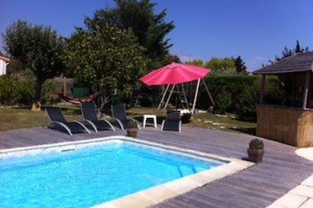 Near ocean Villa with garden & pool - Saint-Vincent-sur-Jard