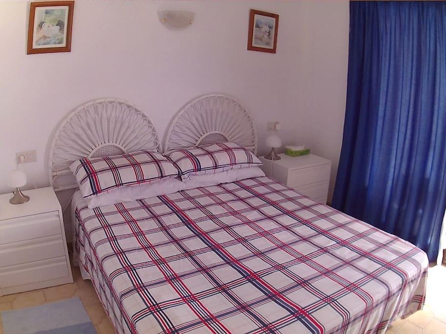 Refurbished main bedroom.