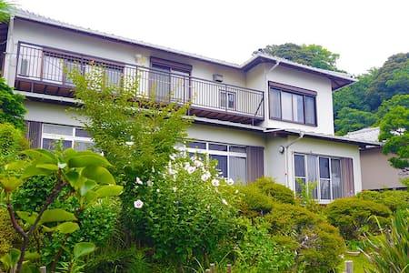 Near Izusan shrine and free footbath, Ocean view! - Atami-shi - Talo