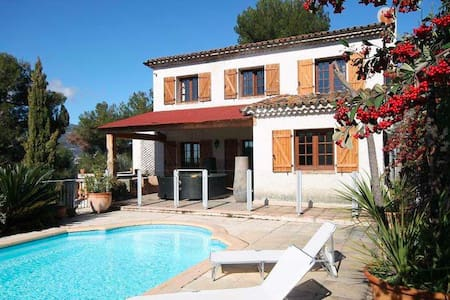 Villa with pool Nice France - Colomars - House
