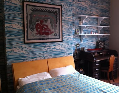 Bright  Room in Comfy seaside Home - Whitley Bay - Casa