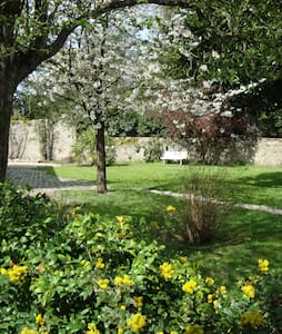 Chambre calme, jardin proche gare - Clisson