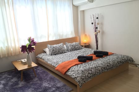 CENTRAL CITY QUEENBED CableT.V WiFi - Appartement