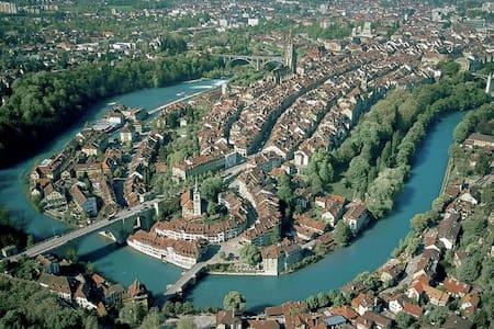 so close to Switzerland's capital!