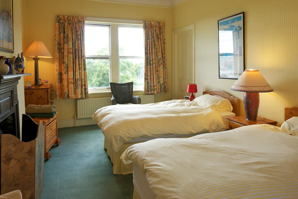 Spacious and comfortable with two beds