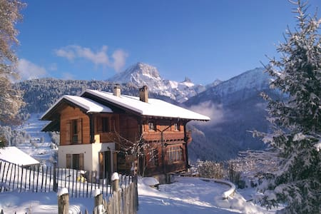 Wonderfull Swiss Chalet in Villars  - Gryon - Chalet