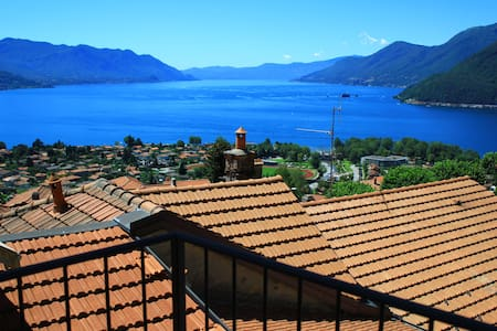 Coucher du soleil stunning view - Maccagno
