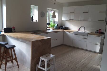 Cool and cosy house in the heart of Roskilde - Talo