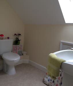 Top floor double bed with ensuite - Lowestoft