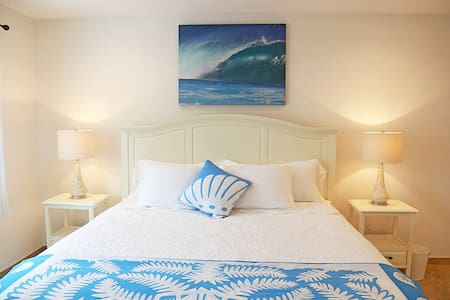 Immaculate suite steps to Waimanalo Beach - Waimanalo - Bed & Breakfast