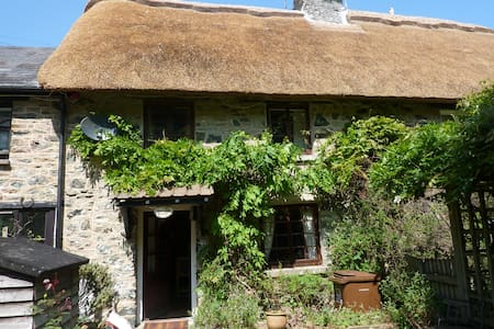 BANK COTTAGE DEVON-RIVERSIDE THATCH - Casa