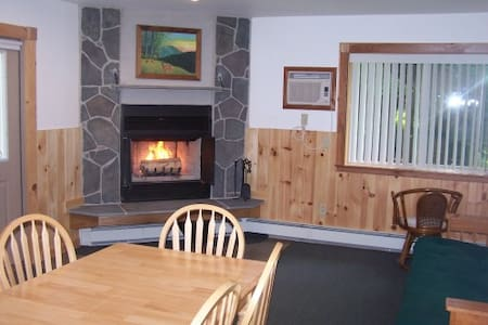One bedroom Chalet Apt. w/fireplace - Big Indian