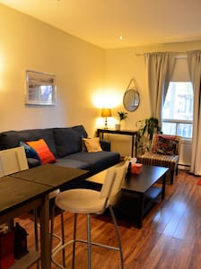Charming bright apartment in great location - Montréal - Lägenhet