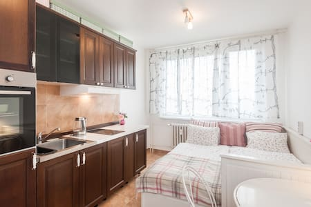 Private apt. 15min to Old town square + parking - Apartment