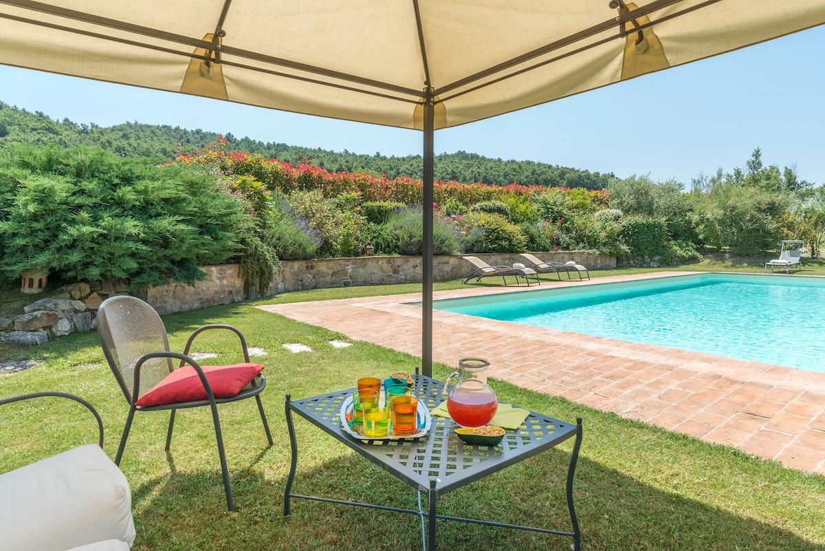 Casa Todi con piscina