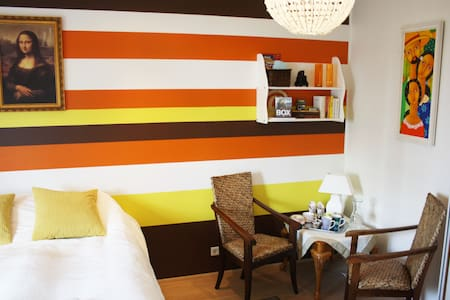 Spacious, elegant room in Hafnarfjordur. - Bungalow