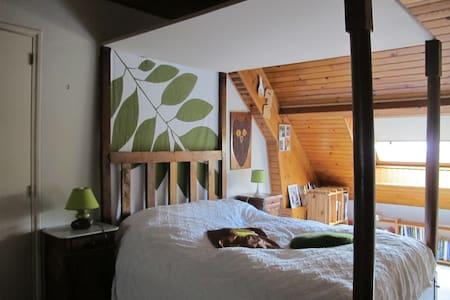Chambre avec lit à baldaquin - Bonneuil-sur-Marne - House