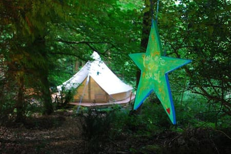 The Beautiful Bell Tent at the Woodland Retreat - Ryde