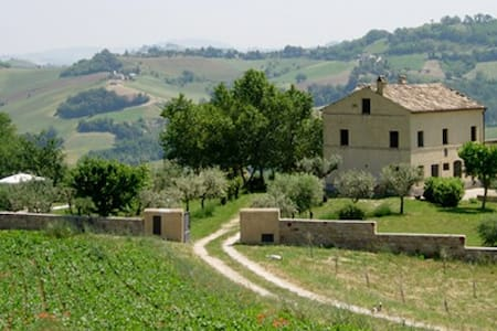 Casa Ceglie-An Elegant Villa with Pool nr Village - Santa Vittoria In Matenano - Villa