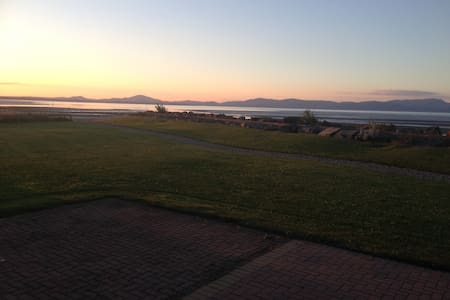 Double room in flat with beautiful sea views - Annagassan - Apartment