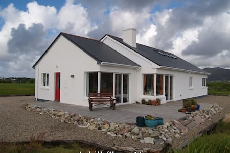 An Achill haven by the sea shore