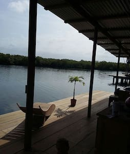 Beautiful view from a bedroom - Provincia di Bocas del Toro - Haus