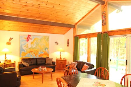 Cozy chalet in the Laurentians - Alpehytte