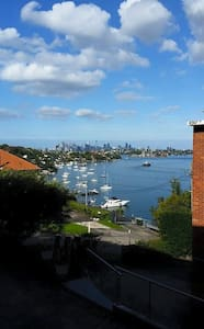 Beautiful Harbour-View Apartment - Hunters Hill - Apartment