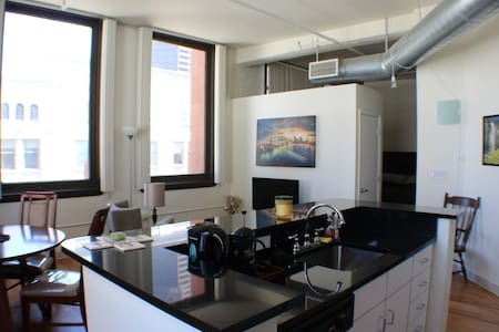 Historic Loft in Heart of Downtown! - Denver - Wohnung