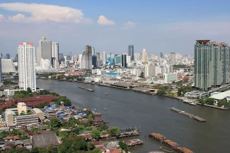 Budgeted Riverside Condo - Bangkok - Departamento