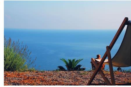 maison de charme face à la mer - Torremuzza - Casa