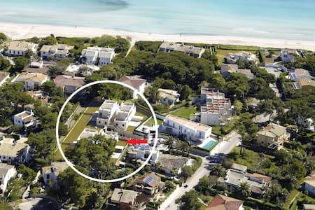 Direct access to Playa de Muro - Haus