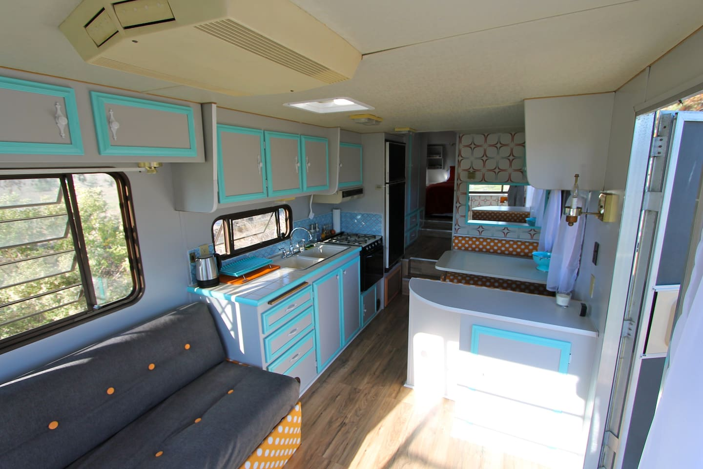 Completely remodeled 5th wheel interior!