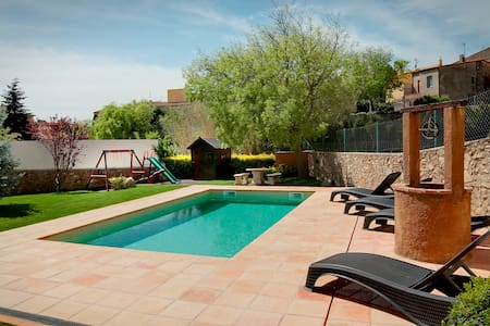 Can Llobet , piscina y Jacuzzi ( Costa Brava) - House