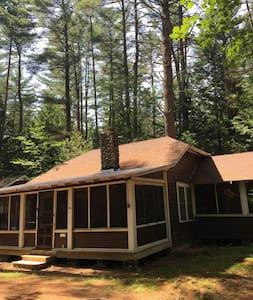 Quaint 3br Up-To-Date Adirondack Cottage - Lake Luzerne - Cabin