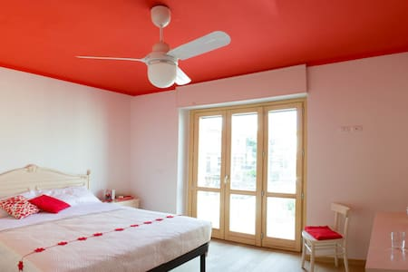 Arcobaleno B&B - Stanza Rossa - Bed & Breakfast