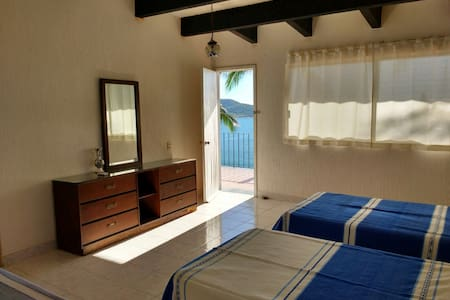 VISTA HERMOSA HOUSE, Room 1  (2 guests) - Zihuatanejo  - House