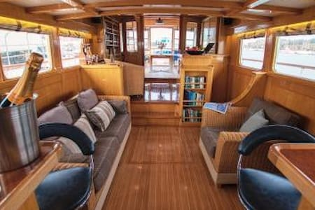Stay on board our beautiful Motor Yacht Seafin - Hampshire