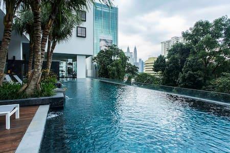 Horizon Bukit Bintang,J Tun Razak/Internet+Parking - Apartamento