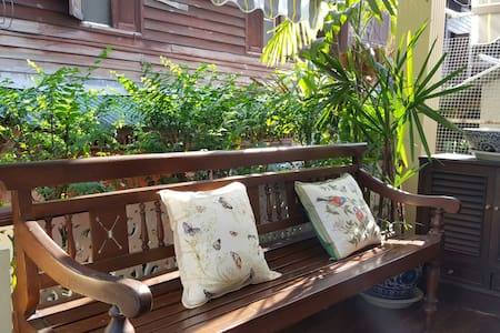 Charming+Tranquil Colonial Bangkok + Breakfast - Bangkok - Bed & Breakfast