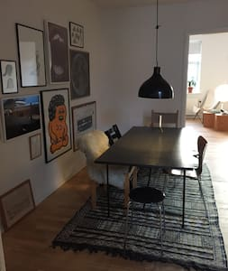 Large, cozy and light apartment in the center. - Aarhus