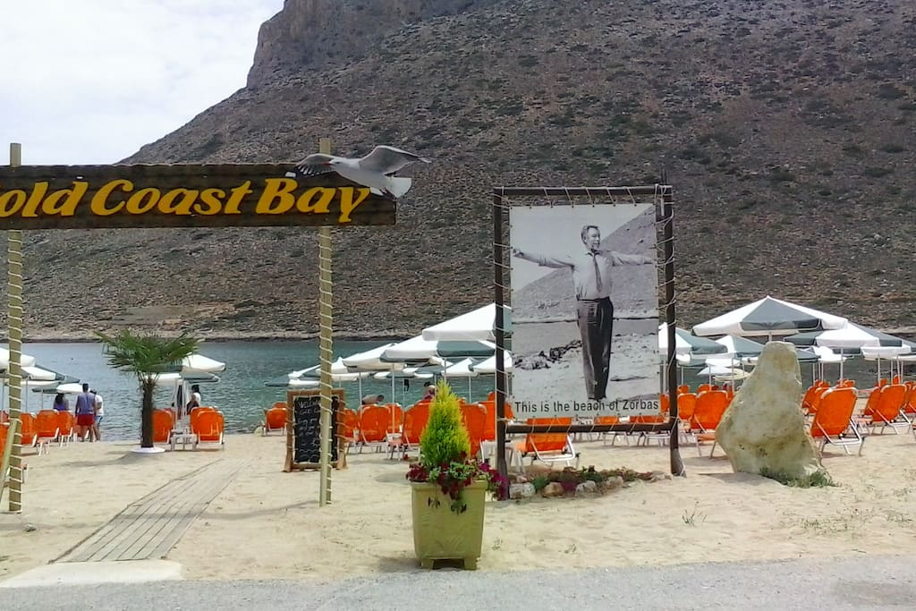 The most famous beach in the area is the beach of Stavros, the place where filmed many of the scenes of the movie Zorba with Anthony Quinn.