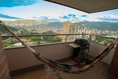 two rooms, near metro, excelent located - Medellín - Apartment