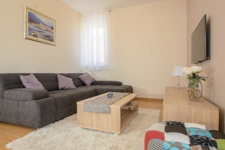 * Pool with saltwater 4*  Sea view**Last Minute !! - Okrug Gornji - Apartment