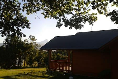 Cabaña con vista al volcan. - Cabin