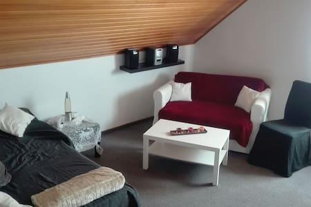 Modernes Doppelzimmer - Großenkneten - Apartamento