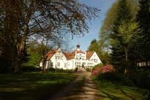 Villa Steinberg über den Seen
