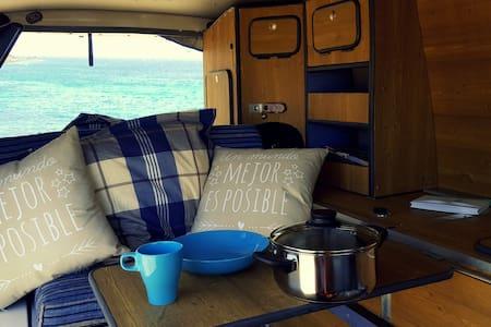 """Rent a van & travel! """"Home is where you park it."""" - Autocaravana"""